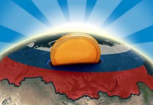 Russia moneybox