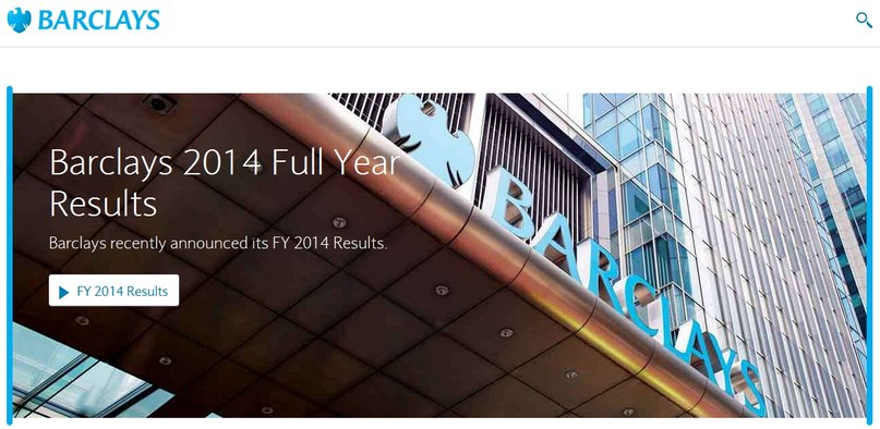 Webtransfer счет  в Barclays